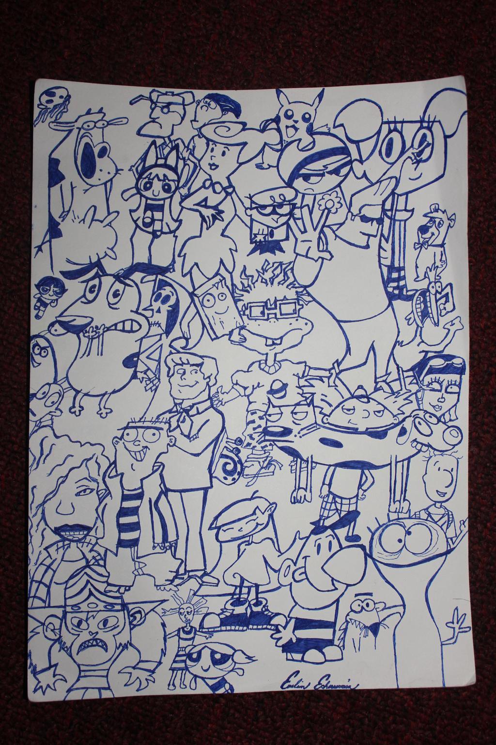 90's Cartoon 002 by eve747