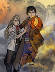 Hawkeye and Flame Alchemist