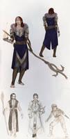 Sketchdump VII Dragon age