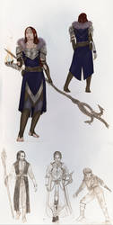 Sketchdump VII Dragon age by Anylon