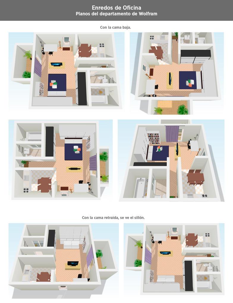 enredos de oficina planos departamento de wolf3d by