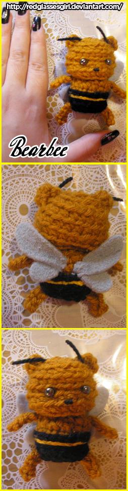 Bearbee amigurumi