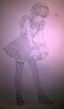 Grumpy maid