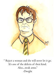 Dwight Schrute-The Office by Ashwin24