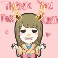 Llama by chuutadesu