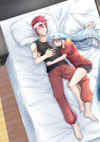 [Commission] Nejire and Akano by chuutadesu