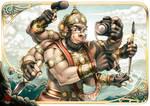 Designer Hanuman