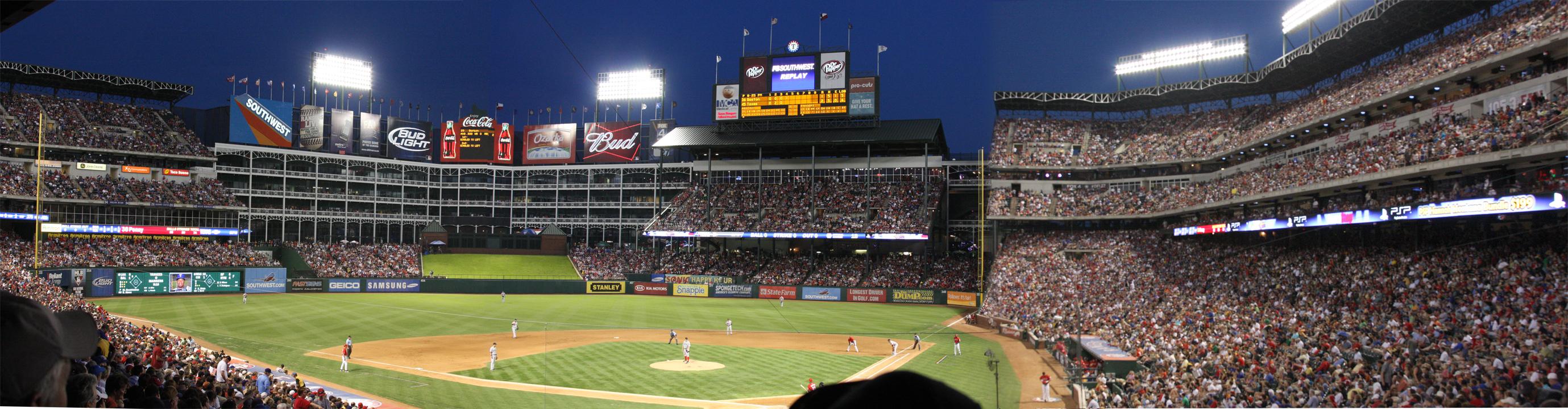 Texas Ranger Stadium by iballoon