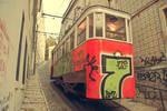 Lisbon Tram II by skypho