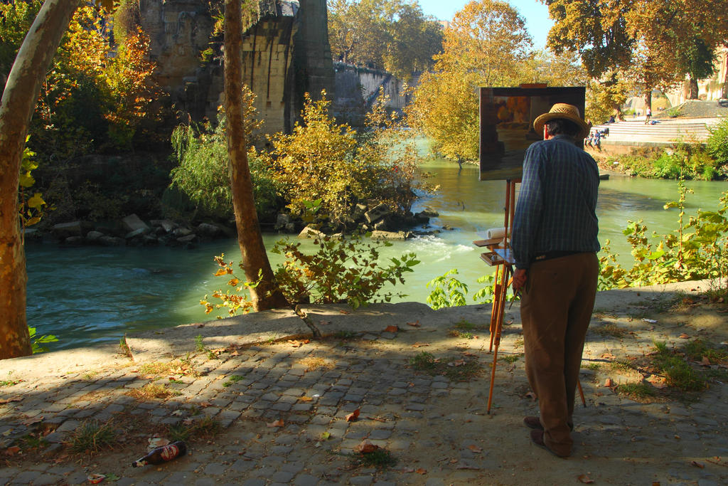 The Painter by skypho