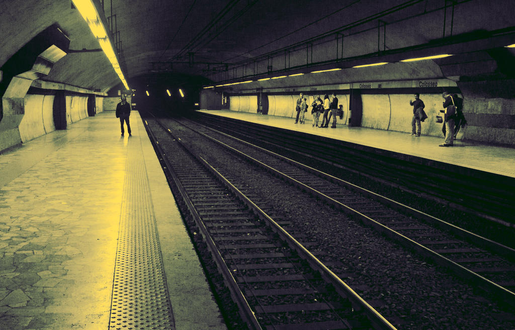 Rome Metro by skypho