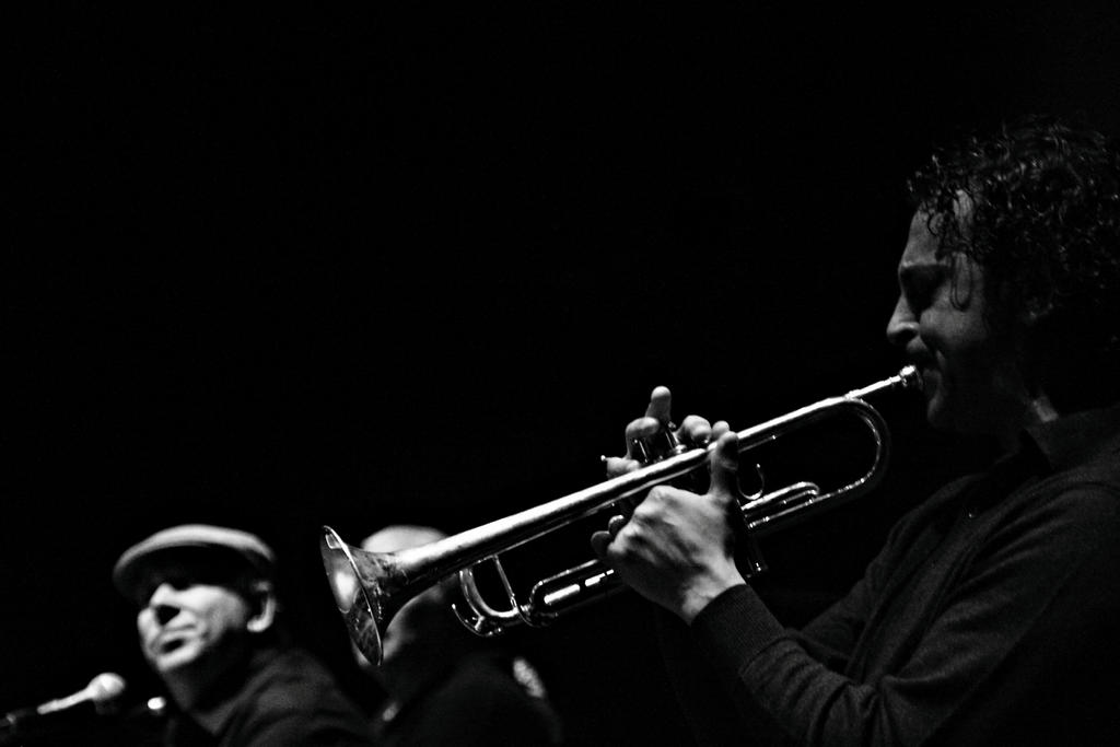 Trumpet Player by skypho