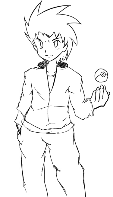 pokemon trainer coloring pages - photo#12