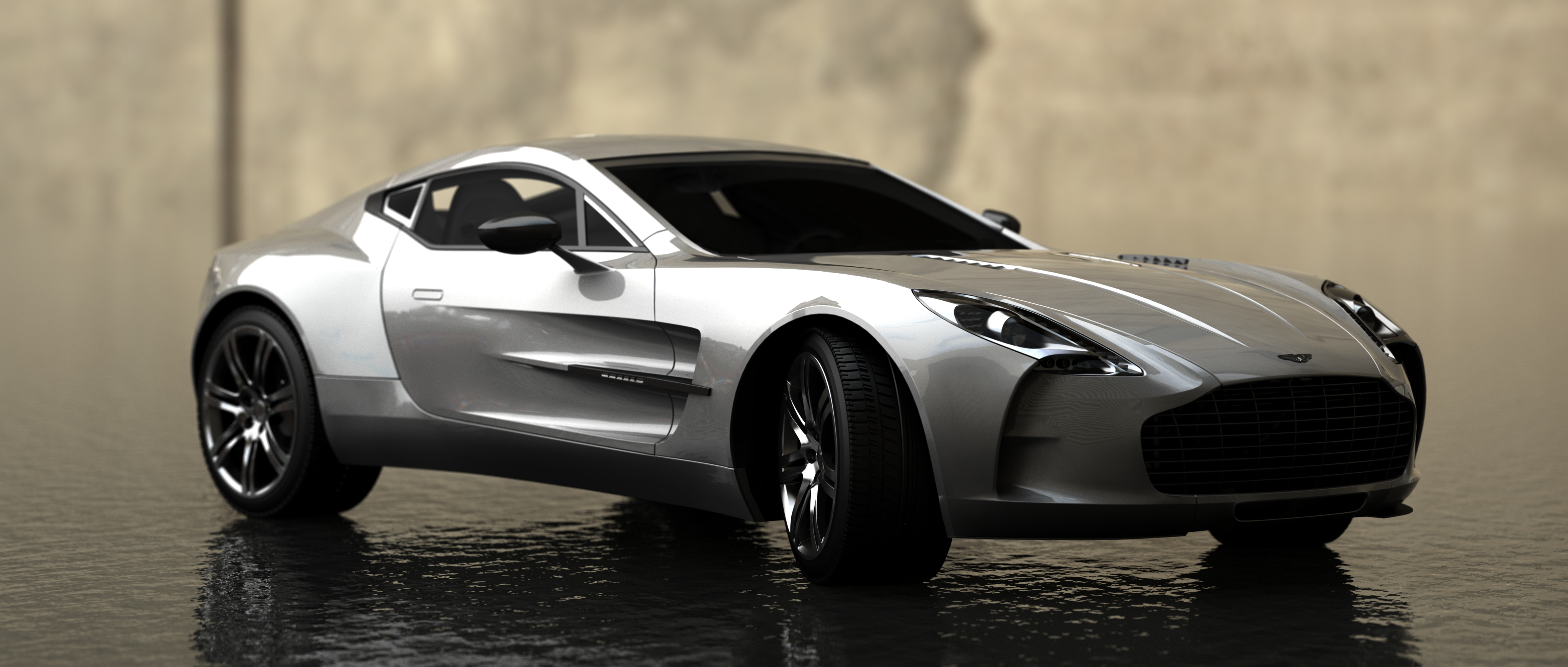 Aston Martin One 77 By Ajaxial On Deviantart