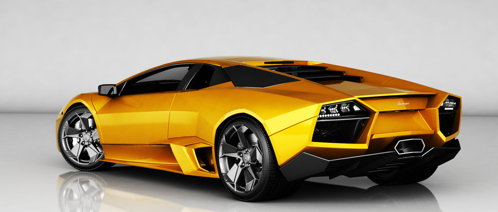 Lamborghini Reventon Rear Ns Orange By Ajaxial On Deviantart