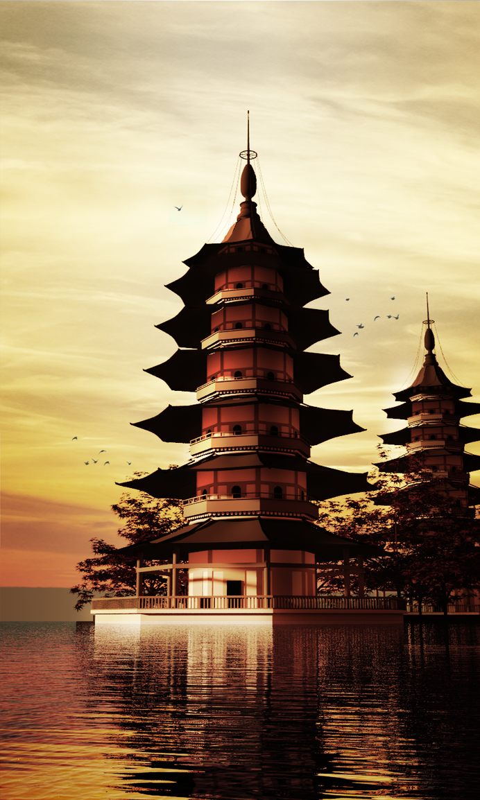 Pagoda by GTaurus
