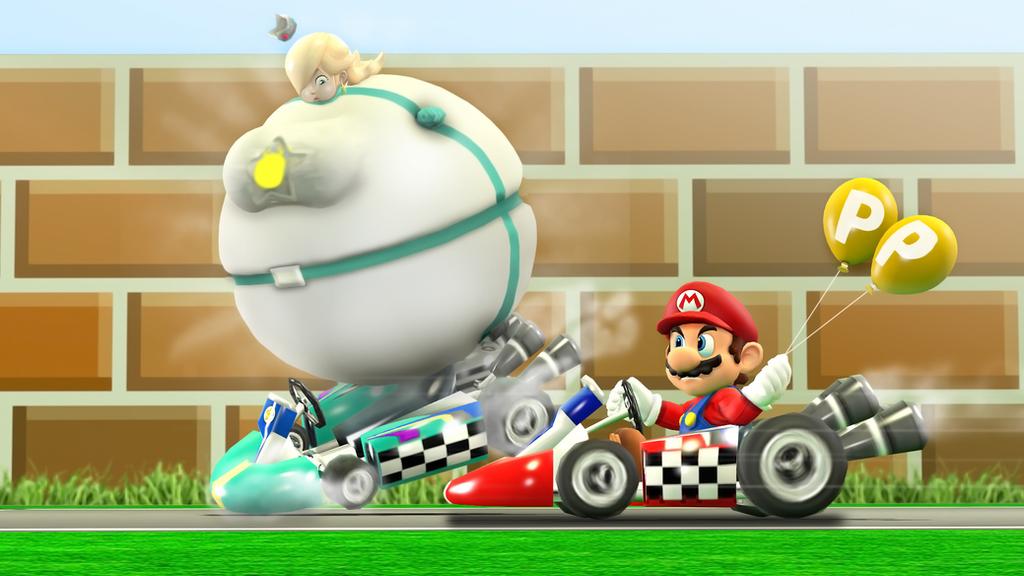 P Balloon: P Balloons Should Be Part Of Mario Kart Just Sayin By