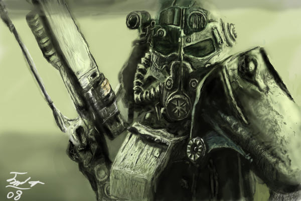 Fallout 3 fan art by vegas9879