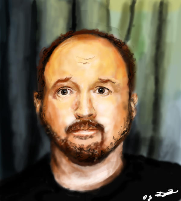 Louis CK portrait by vegas9879