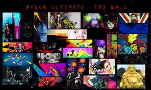 Y44N Ultimate Tag Wall by Y44n