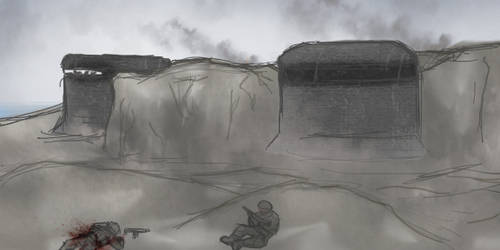 Storming the Beach: Short Animated Composition