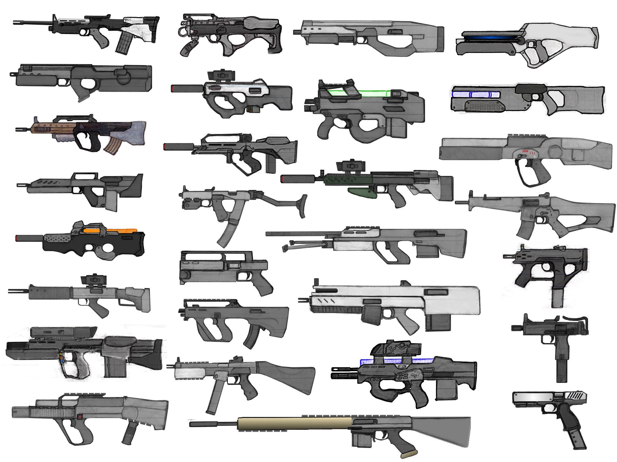 Weapons Set Pre-Final by OutFoxedTW