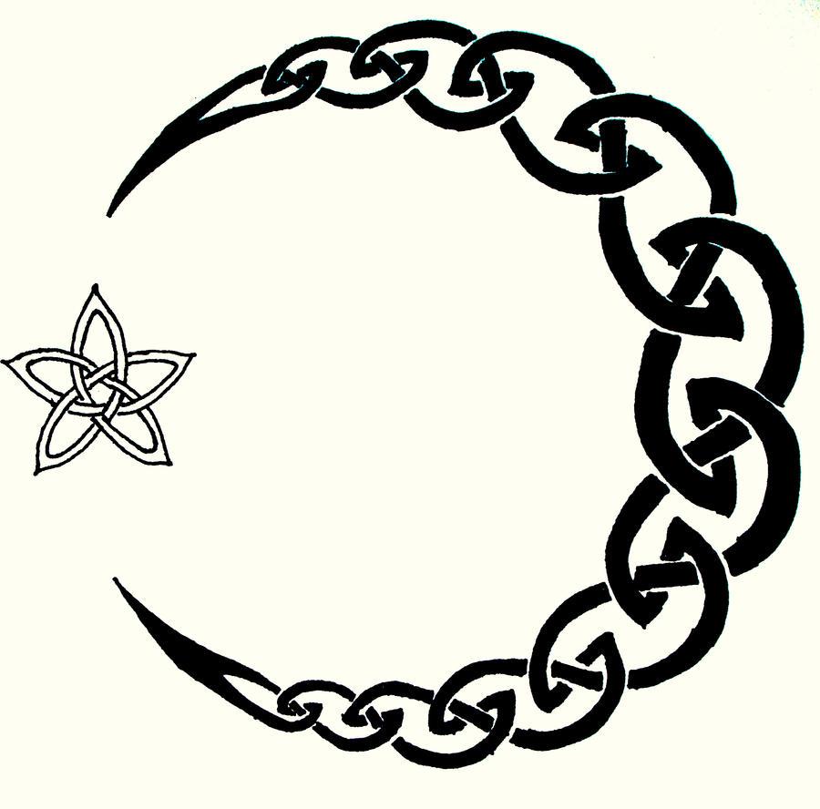 Celtic moon tattoo by iolair01 on deviantart celtic moon tattoo by iolair01 buycottarizona Image collections