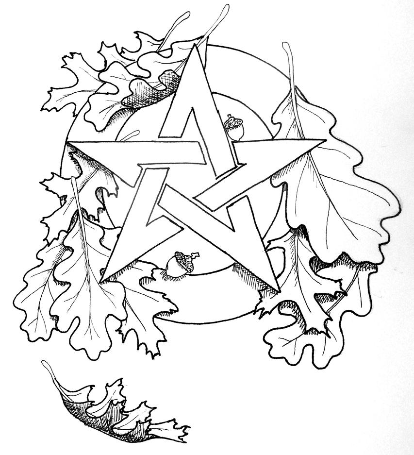 witch mandala coloring pages - photo#22