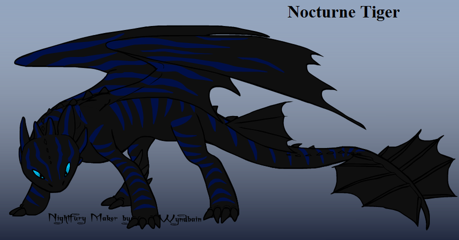 Night fury subspecies by dragonusprime on deviantart - Dragon fury nocturne ...