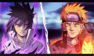 [C] Naruto Vs Sasuke
