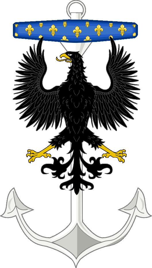 Seal Of The Takanuvian Navy Force by mastercharlesalbert