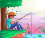 Minecraft Steve relax juas