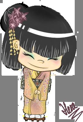 Japanese shyness by HeraChann on DeviantArt