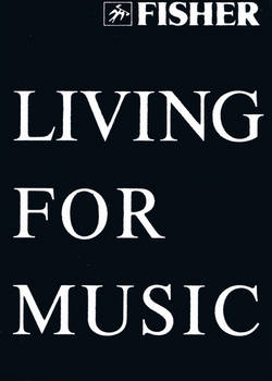 Fisher - LIVING FOR MUSIC