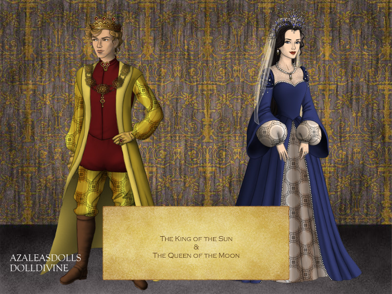 Tudor Scene Maker: Sun and Moon by rubyredtrumpet
