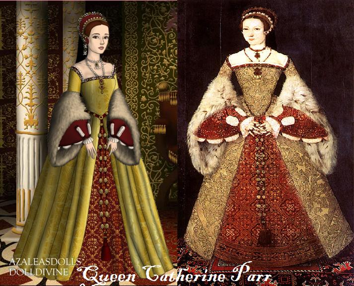 Tudor Scene Maker: Catherine Parr by rubyredtrumpet