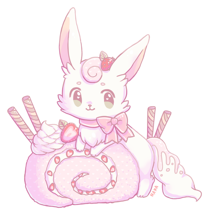 Cake Roll Art : Cake Roll by Meloedy on DeviantArt