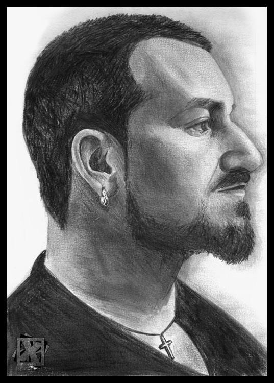 Bono Popmart portrait by th-x