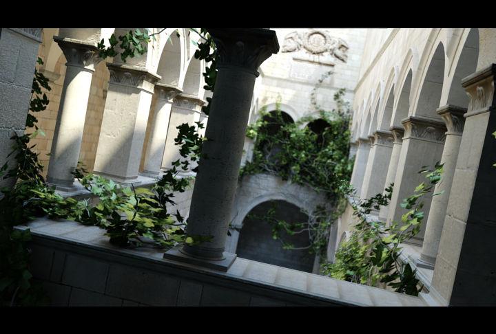 Sponza Atrium Noon Light