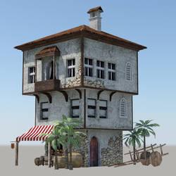 Mediterranean old House