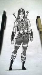 Character design - Cilvi by VivekJagtap