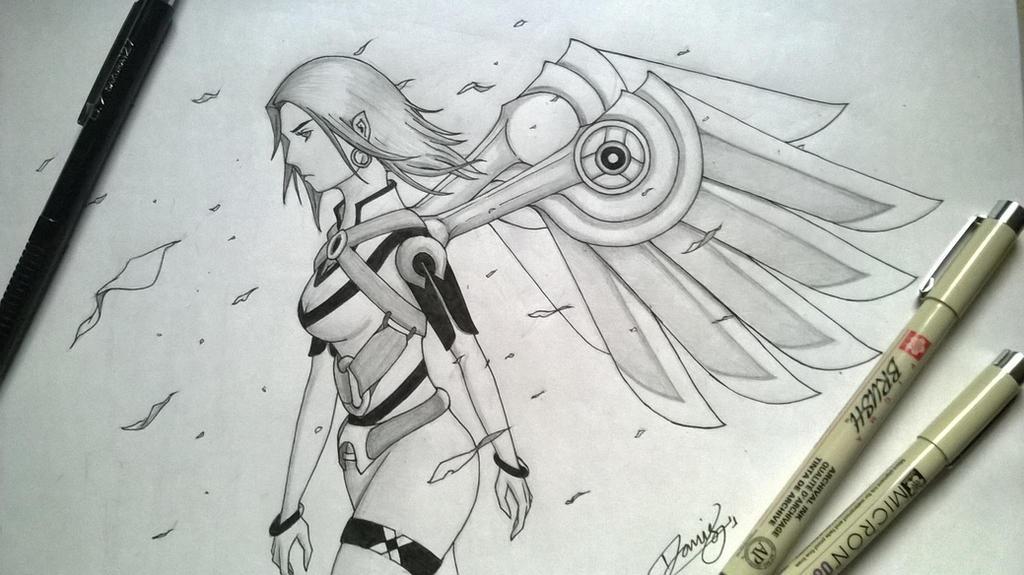 Uzziel - Angel of Faith by VivekJagtap