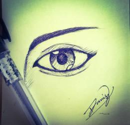 Eye by VivekJagtap
