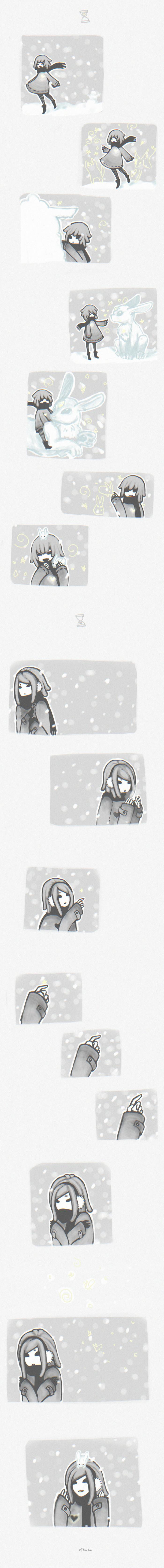 snowflakes by LisEihwaz