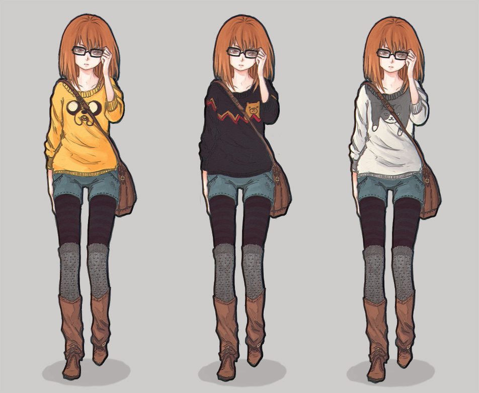 sweaters by LisEihwaz