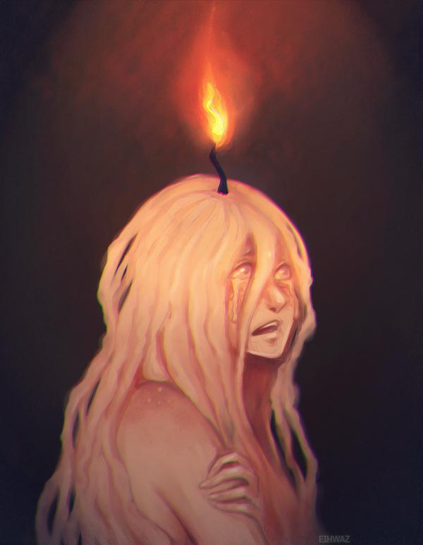 Candle Nymph by IrinaEihwaz