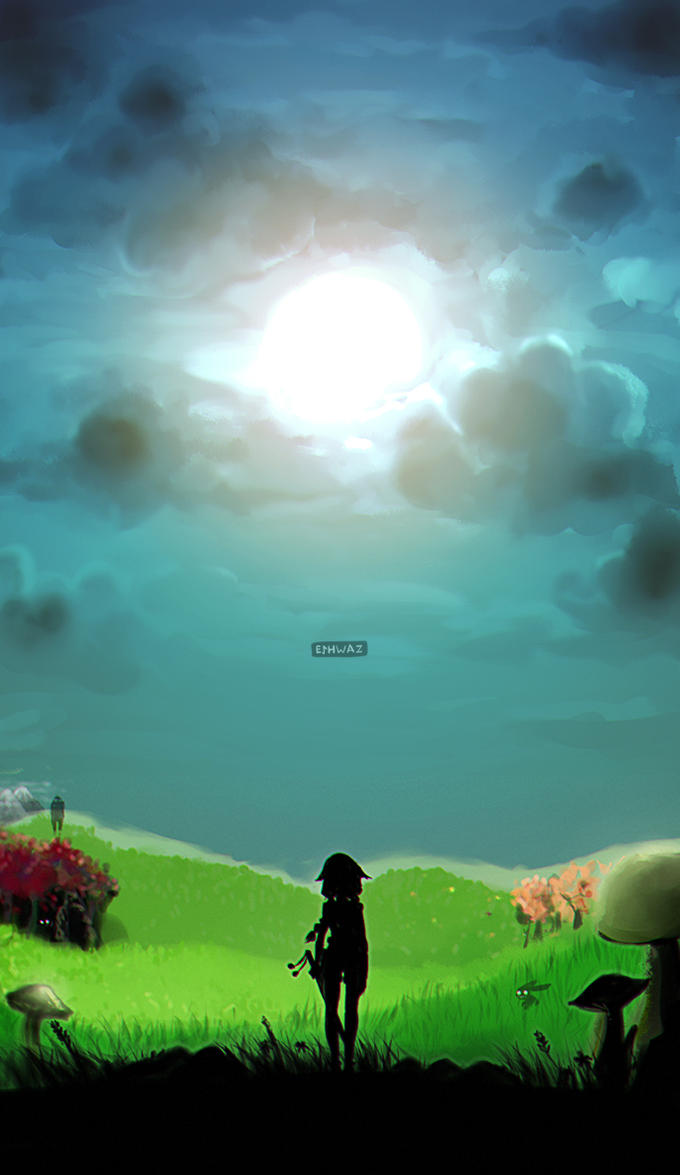 Here's my world. by LisEihwaz