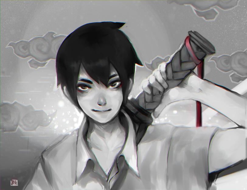 Swordsman by LisEihwaz