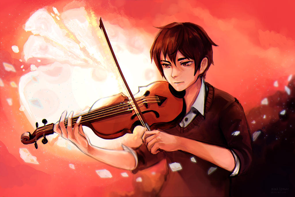 Violinist by IrinaEihwaz