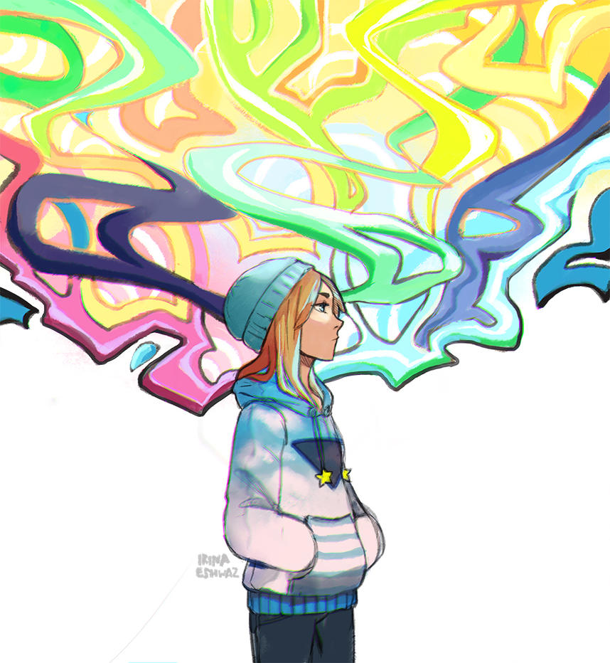 GraffitiGirl by IrinaEihwaz